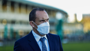 Chris Waller has been patient with the promising Ma And Pa.