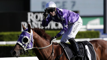 Brenton Avdulla survived a close shave with Kubrick in the $1million Bondi Stakes.