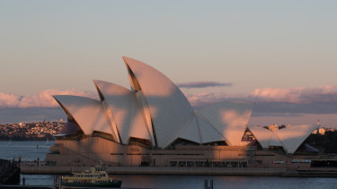 The Opera House has already registered as a trademark a stylised version of its famous sails.