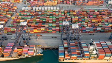 It is estimated the congestion at China's Yantian port will take up to eight weeks to clear.