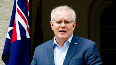 "Scott Morrison says he has ""great confidence"" in the American democracy."