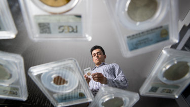 Eric Eigner is positive about the market for coin collecting.
