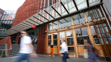 The majority of Max Brenner's Australian stores will close their doors for good.