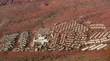 BHP's Mulla Mulla camp: Sites like this could be a perfect breeding ground for COVID-19.