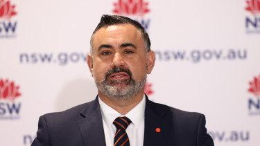 NSW Deputy Premier John Barilaro, pictured this week.