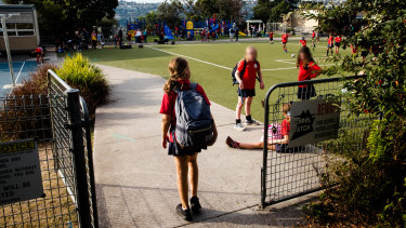 A Year 1 teacher at Beauty Point Public School (pictured) is accused of mistreating students.