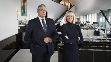 Philip Quast and Hermione Norris in Between Two Worlds.