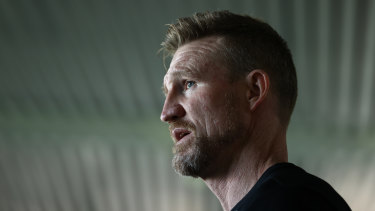 By declaring he wants to continue in his role as Collingwood coach beyond this season, Nathan Buckley has turned the focus back on the decision-makers at the club.