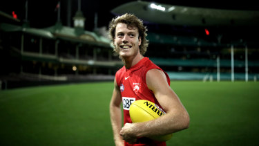 Nick Blakey has signed a new contract with the Sydney Swans, keeping him at the club until 2024.