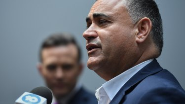Deputy Premier John Barilaro is set to lose his licence after a string of driving offences.