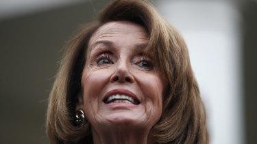 House Democratic leader Nancy Pelosi of California.