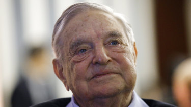 George Soros has become a frequent target of right-wing conspiracy theorists.