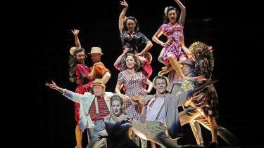 Tina Arena stars as Eva Peron in the classic musical Evita at the Arts Centre Melbourne.