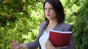 State parliamentary leader of the Greens WA Alison Xamon.