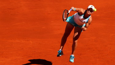 Ashleigh Barty has been in hot form this year.