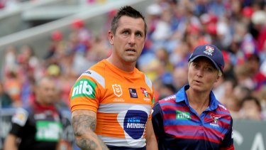 Mitchell Pearce is expected to be sidelined for 10 weeks.