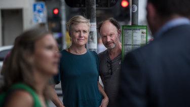 Passenger creators Jessica Wilson and Ian Pidd.