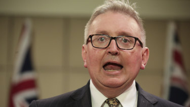 Don Harwin leads a revolt at the COAG energy ministers meeting against the Morrison government.