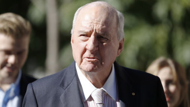 Alan Jones was found to have defamed the Wagners.