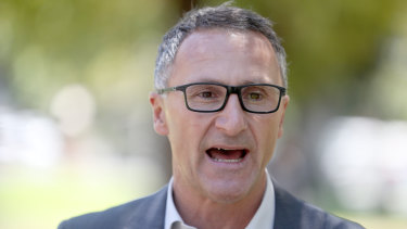 Greens leader Richard Di Natale says the War Memorial expansion shouldn't go ahead.
