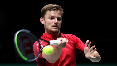 David Goffin has an impressive record in Davis Cup singles rubbers.