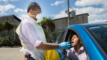 Dr Mukesh Haikerwal has taken to swabbing patients for COVID-19 in their cars amid fears GPs are ill-equipped to deal with a potential coronavirus outbreak.