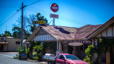 The Great Western Hotel, in Great Western Victoria.