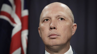 Former home affairs minister Peter Dutton has named immigration and energy prices as key policy areas for any future Dutton government.