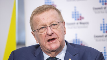 John Coates says NZ will not be part of a potential Queensland bid for the 2032 Olympics.