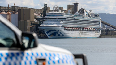 NSW Health was criticised for its handling of the Ruby Princess crisis.