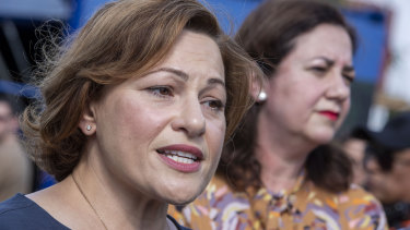 Deputy premier and treasurer Jackie Trad has resigned from her ministerial portfolios.
