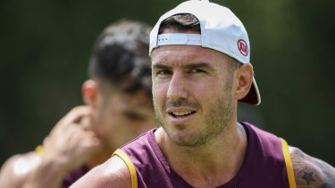 Darius Boyd was told months ago he would no longer be captain.