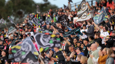Panthers fans could be out in numbers come week one of the finals.