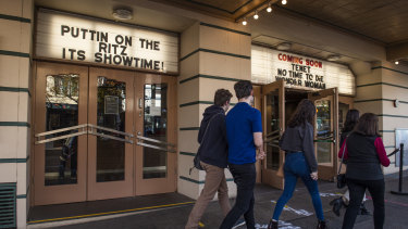 Looking forward to Christopher Nolan's Tenet: the Randwick Ritz.