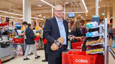 Coles chief information and digital officer Roger Sniezek.