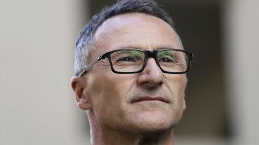 Greens leader Senator Richard Di Natale