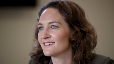 Unsuccessful: Liberal candidate for Mayo Georgina Downer.