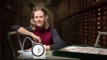 La Trobe University researcher Dr Heloise Gibb.