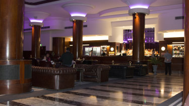 The new-look City Tattersalls Club Lower Bar at 198 Pitt Street, Sydney.