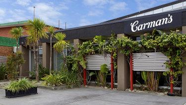 Carman's headquarters for 25 years, at 4 Bricker Street Cheltenham.