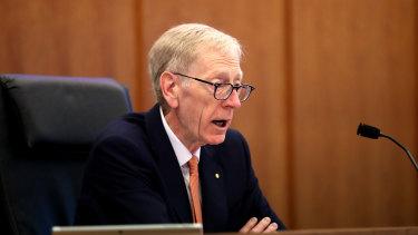 Commissioner Kenneth Hayne