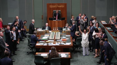 The issue of gay marriage caused great division among Coalition MPs.