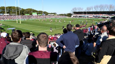 Manly's home ground is in line for a rebuild.