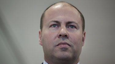 Treasurer Josh Frydenberg wants businesses to invest more and return less capital to shareholders.