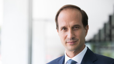 AMP's recently appointed chief executive Francesco De Ferrari is here to win the hearts of investors.