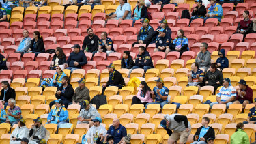 Crowds returned to Suncorp Stadium in late June after a shutdown that cost millions.
