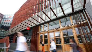 The administrator has closed 20 of Max Brenner's 37 Australian stores and terminated around 250 staff.