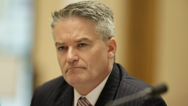 Finance Minister Mathias Cormann was questioned about a family holiday in Senate estimates on Tuesday.