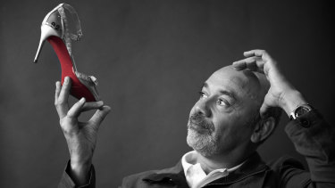 Christian Louboutin remains very hands-on in every part of his business, from shoe design to shop fit-outs and his beauty range.