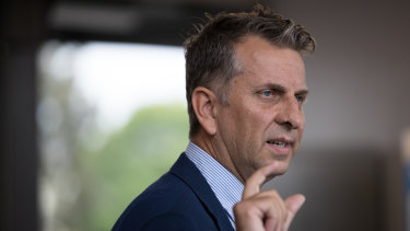 NSW Transport Minister Andrew Constance said there was a 3 per cent increase on the public transport network to Thursday last week.